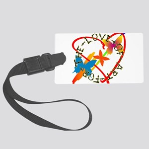 For The Love Of Art Large Luggage Tag