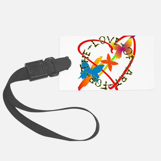For The Love Of Art Luggage Tag
