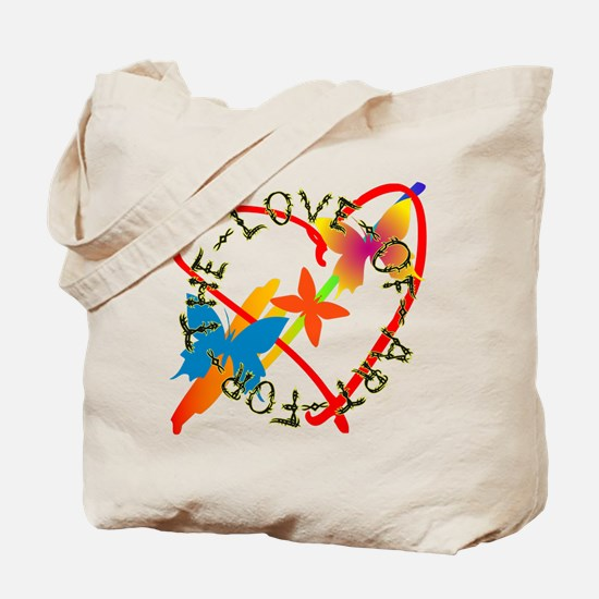 For The Love Of Art Tote Bag