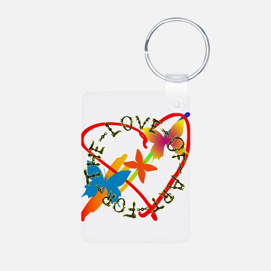 For The Love Of Art Keychains