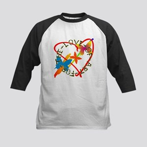 For The Love Of Art Kids Baseball Jersey