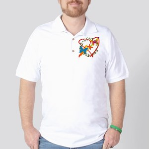 For The Love Of Art Golf Shirt