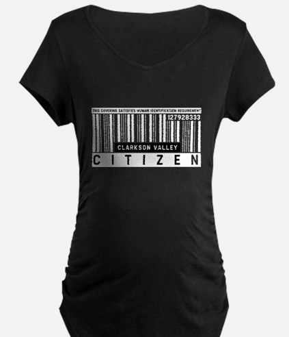 Clarkson Valley, Citizen Barcode, T-Shirt