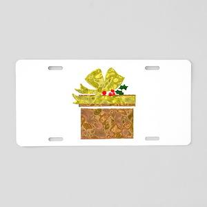 Christmas Gift Aluminum License Plate