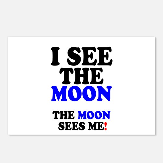I SEE THE MOON! - Postcards (Package of 8)