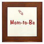 Mom-to-Be Framed Tile