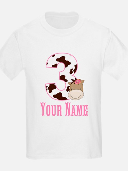 3rd Birthday Girl Horse T-Shirt