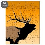 Sunset Bugling Elk Puzzle