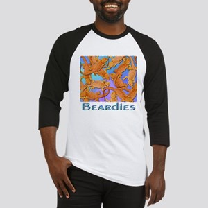 Bunches of Beardies Baseball Jersey