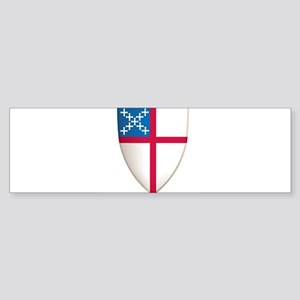 Episcopal Shield Sticker (Bumper)