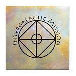 Intergalactic Mission ~ Tile Coaster