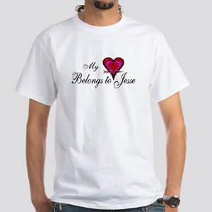 My Heart Belongs to Jesse White T-Shirt