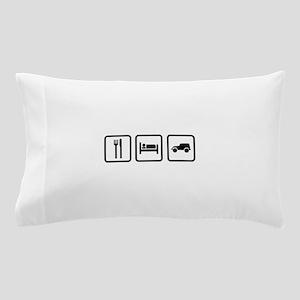 Eat Sleep Jeep Pillow Case