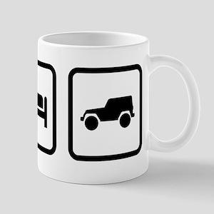 Eat Sleep Jeep Mug
