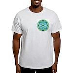 Ash Grey T-Shirt Mercury Yantra