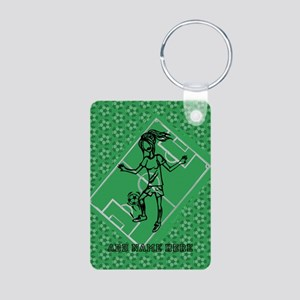 Personalized Soccer girl MOM design Aluminum Photo