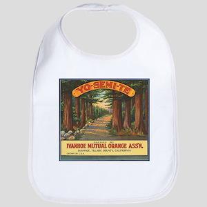 Yosemite Fruit Crate Label Bib