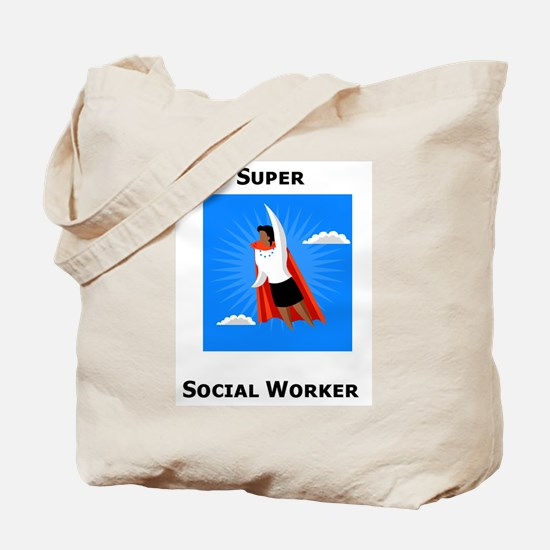 Unique Super social worker Tote Bag