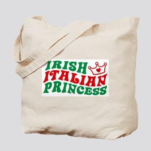Irish Italian Princess Tote Bag