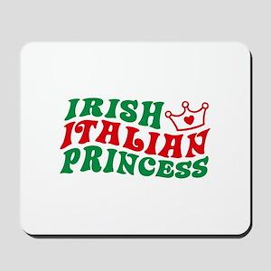 Irish Italian Princess Mousepad