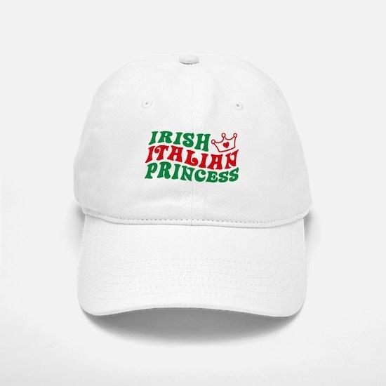 Irish Italian Princess Baseball Baseball Cap