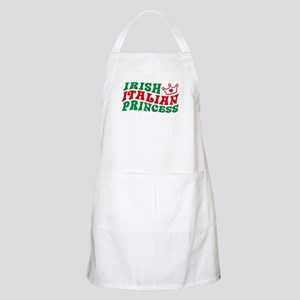 Irish Italian Princess BBQ Apron