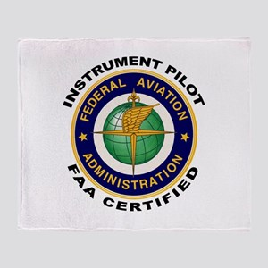Instrument Pilot Throw Blanket