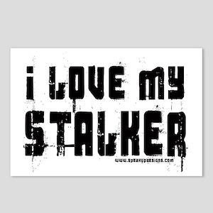 I Love My Stalker Postcards (Package of 8)