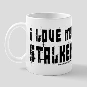 I Love My Stalker Mug