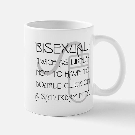 bi: twice as likely Mug