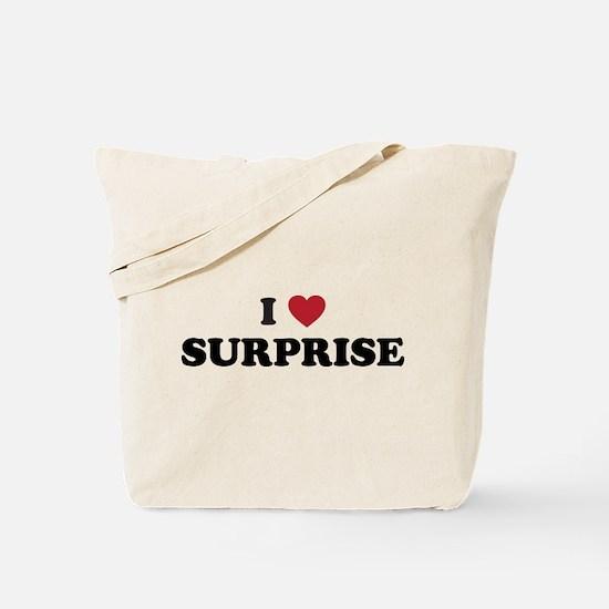 I Love Surprise Arizona Tote Bag