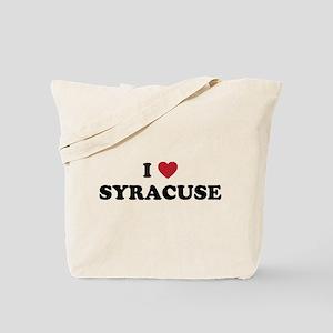 I Love Syracuse New York Tote Bag