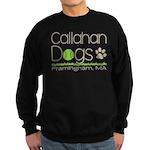 Caldog Logo - Dark Sweatshirt