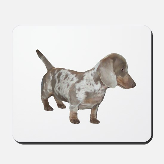 Speckled Dachshund Dog Mousepad