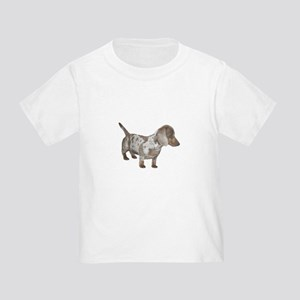 Speckled Dachshund Dog Toddler T-Shirt