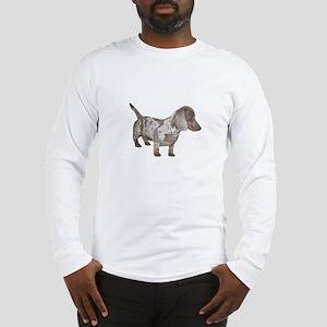 Speckled Dachshund Dog Long Sleeve T-Shirt