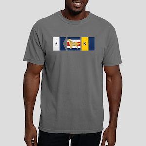 Nantucket Preppy Dog Signal Flag Mens Comfort Colo