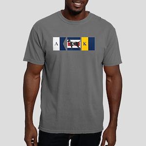 Preppy Lab Dog ACK Signal Flag Mens Comfort Colors
