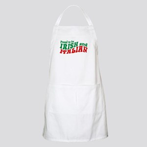 Proud to be Irish and Italian BBQ Apron
