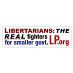 Real Fighters Bumper Sticker