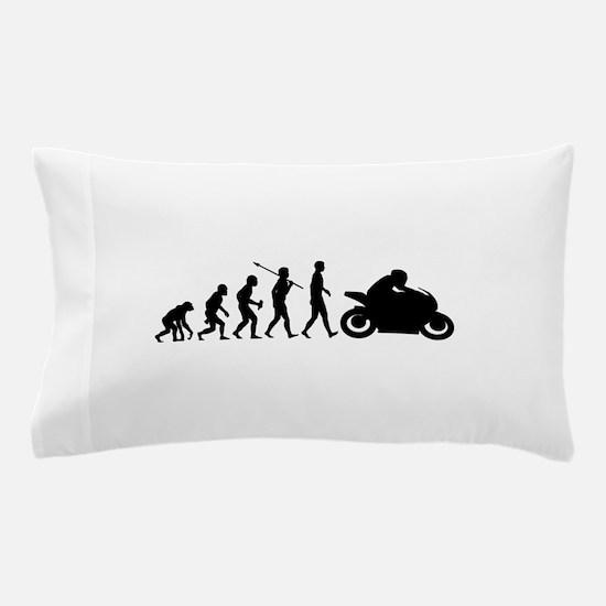 Bike Rider Pillow Case