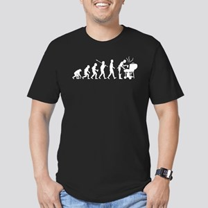 BBQ Men's Fitted T-Shirt (dark)