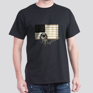 Pugtriotic Gear Black T-Shirt