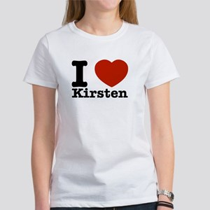 I Love Kirsten Women's T-Shirt