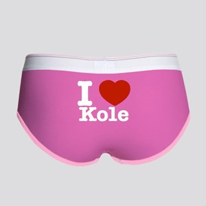 I Love Kole Women's Boy Brief