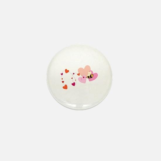 Bee Love Mini Button