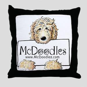 Jordan McDoodles Throw Pillow