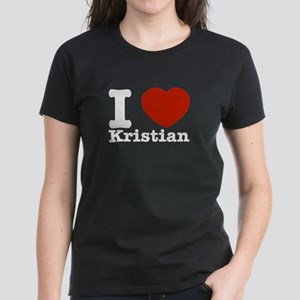 I Love Kristian Women's Dark T-Shirt