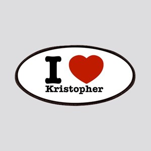 I Love Kristopher Patches