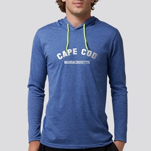 Cape Cod Massachusetts Souvenirs Mens Hooded Shirt
